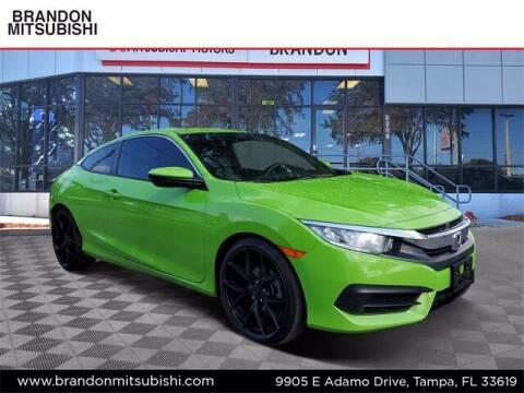 2016 Honda Civic for sale at Brandon Mitsubishi in Tampa FL