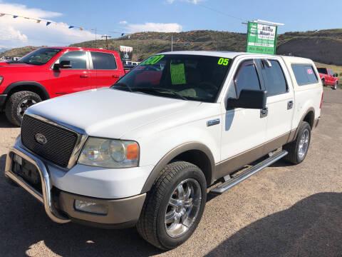 2005 Ford F-150 for sale at Hilltop Motors in Globe AZ