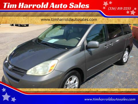 2004 Toyota Sienna for sale at Tim Harrold Auto Sales in Wilkesboro NC