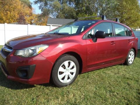 2012 Subaru Impreza for sale at Niewiek Auto Sales in Grand Rapids MI