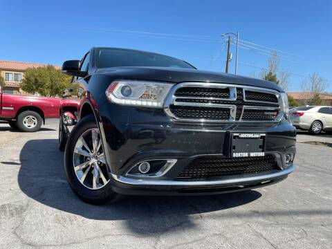 2016 Dodge Durango for sale at Boktor Motors in Las Vegas NV