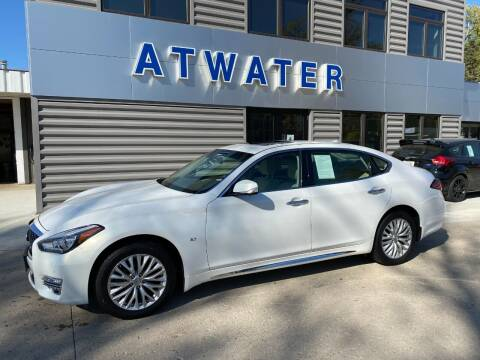 2015 Infiniti Q70L for sale at Atwater Ford Inc in Atwater MN