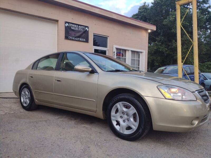 2004 Nissan Altima for sale at Sparks Auto Sales Etc in Alexis NC