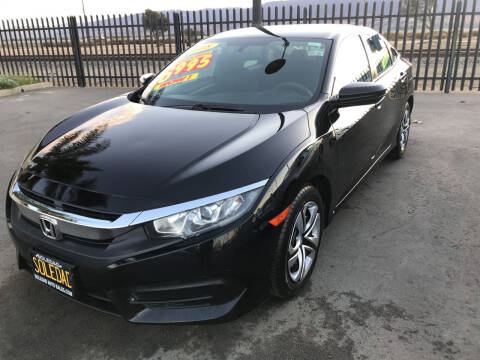 2018 Honda Civic for sale at Soledad Auto Sales in Soledad CA