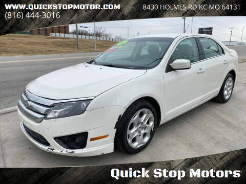 2011 Ford Fusion for sale at Quick Stop Motors in Kansas City MO