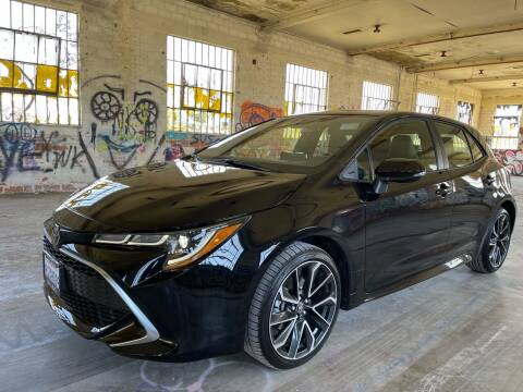 2021 Toyota Corolla Hatchback for sale at Dodi Auto Sales in Monterey CA
