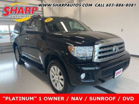 2017 Toyota Sequoia for sale at Sharp Automotive in Watertown SD