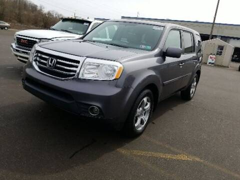 2015 Honda Pilot for sale at B & P Motors LTD in Glenshaw PA