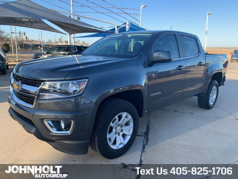 2016 Chevrolet Colorado for sale at JOHN HOLT AUTO GROUP, INC. in Chickasha OK