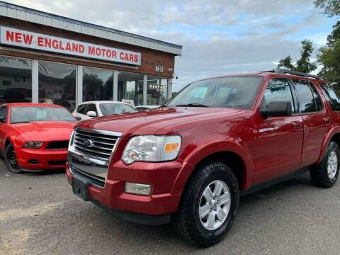 2010 Ford Explorer for sale at New England Motor Cars in Springfield MA