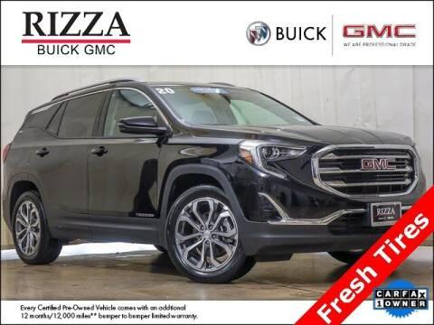 2020 GMC Terrain for sale at Rizza Buick GMC Cadillac in Tinley Park IL