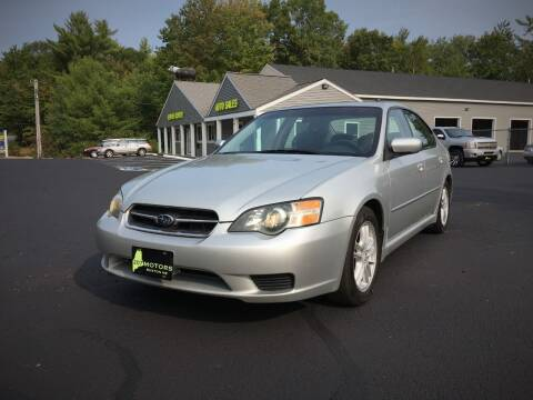 2005 Subaru Legacy for sale at 207 Motors in Gorham ME