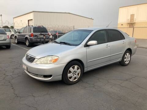 2006 Toyota Corolla for sale at PRICE TIME AUTO SALES in Sacramento CA