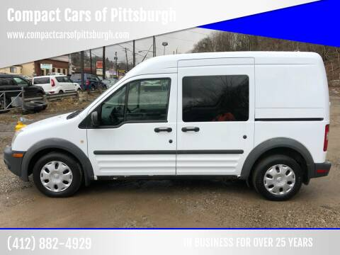 2011 Ford Transit Connect for sale at Compact Cars of Pittsburgh in Pittsburgh PA
