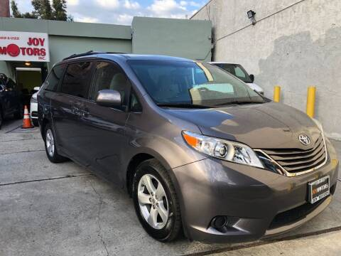 2015 Toyota Sienna for sale at Joy Motors in Los Angeles CA