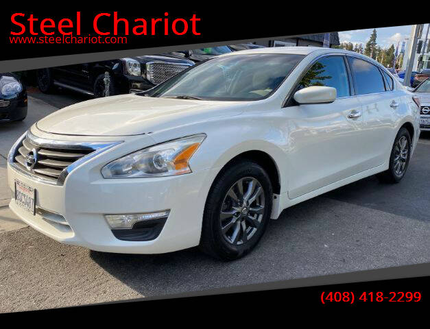 2015 Nissan Altima for sale at Steel Chariot in San Jose CA