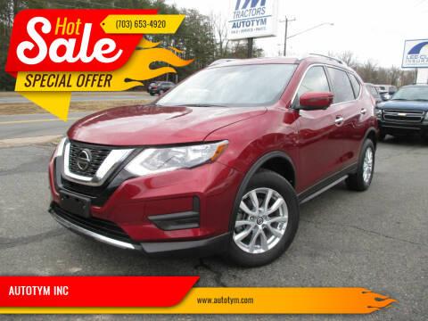 2018 Nissan Rogue for sale at AUTOTYM INC in Fredericksburg VA