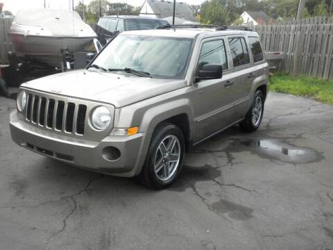 2008 Jeep Patriot for sale at MASTERS AUTO SALES in Roseville MI