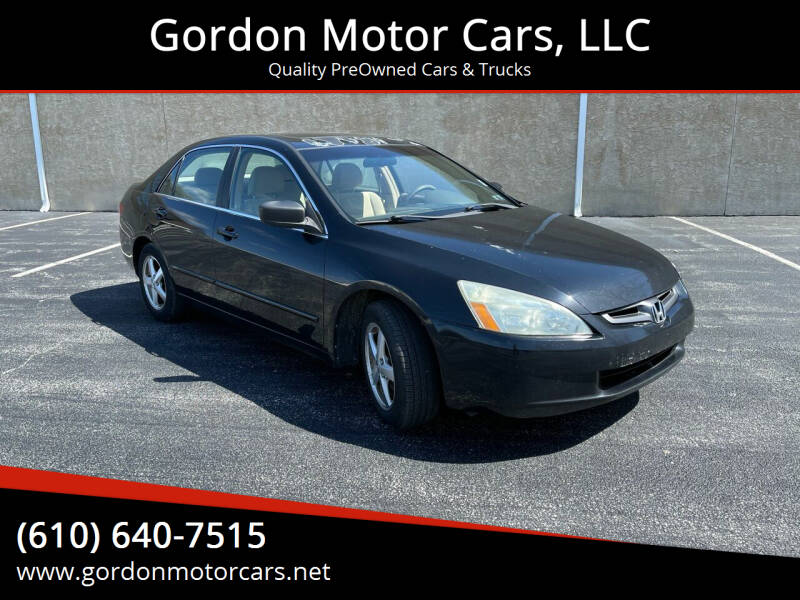 2005 Honda Accord for sale at Gordon Motor Cars, LLC in Frazer PA