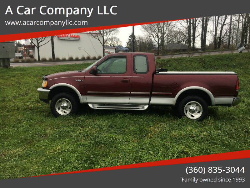 1997 Ford F-150 for sale at A Car Company LLC in Washougal WA