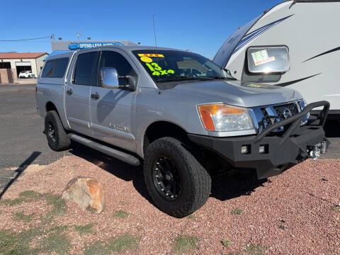 2013 Nissan Titan for sale at SPEND-LESS AUTO in Kingman AZ