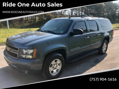 2008 Chevrolet Suburban for sale at Ride One Auto Sales in Norfolk VA