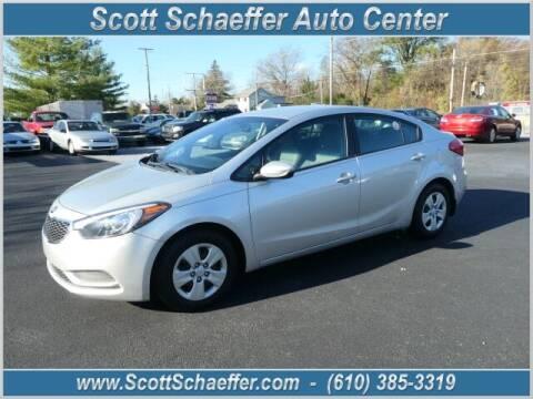 2015 Kia Forte for sale at Scott Schaeffer Auto Center in Birdsboro PA