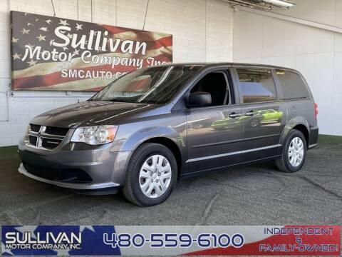 2017 Dodge Grand Caravan for sale at SULLIVAN MOTOR COMPANY INC. in Mesa AZ