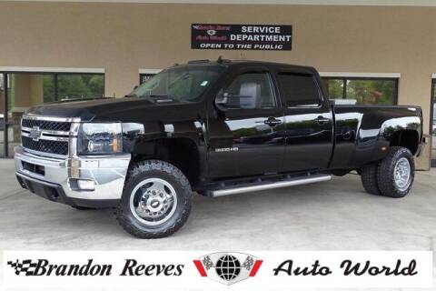 2011 Chevrolet Silverado 3500HD for sale at Brandon Reeves Auto World in Monroe NC