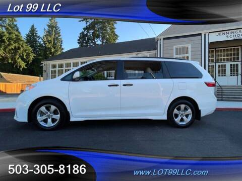 2019 Toyota Sienna for sale at LOT 99 LLC in Milwaukie OR