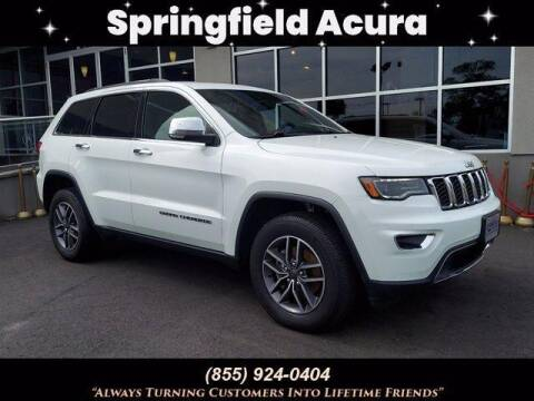 2019 Jeep Grand Cherokee for sale at SPRINGFIELD ACURA in Springfield NJ