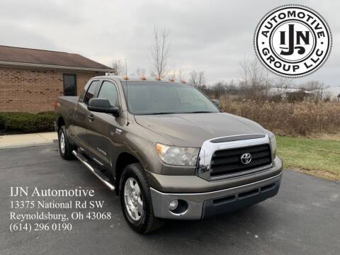 2008 Toyota Tundra for sale at IJN Automotive Group LLC in Reynoldsburg OH