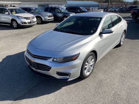 2018 Chevrolet Malibu for sale at U FIRST AUTO SALES LLC in East Wareham MA