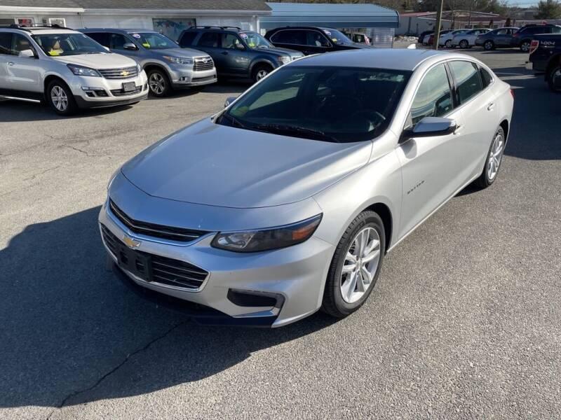 2018 Chevrolet Malibu for sale at U FIRST AUTO SALES LLC in East Wareham MA