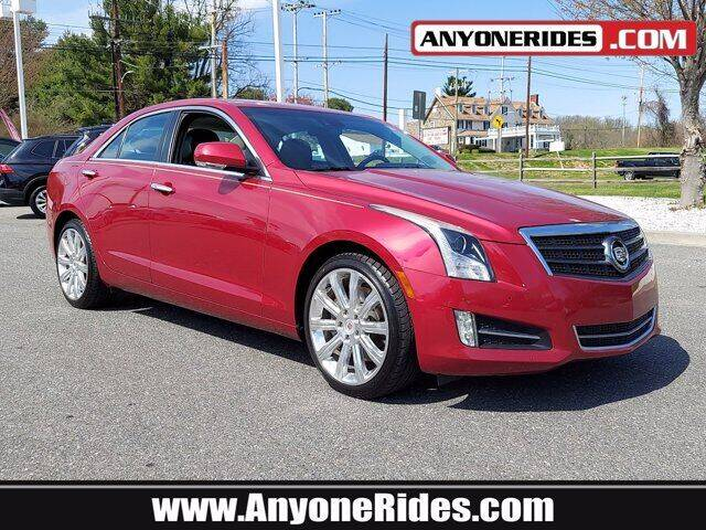2013 Cadillac ATS for sale at ANYONERIDES.COM in Kingsville MD