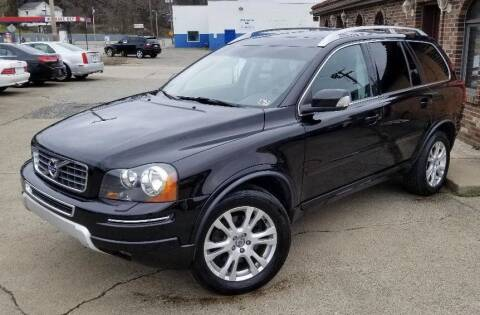 2013 Volvo XC90 for sale at SUPERIOR MOTORSPORT INC. in New Castle PA