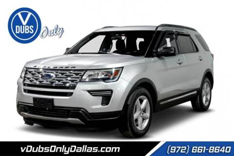 2019 Ford Explorer for sale at VDUBS ONLY in Dallas TX