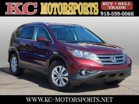 2012 Honda CR-V for sale at KC MOTORSPORTS in Tulsa OK