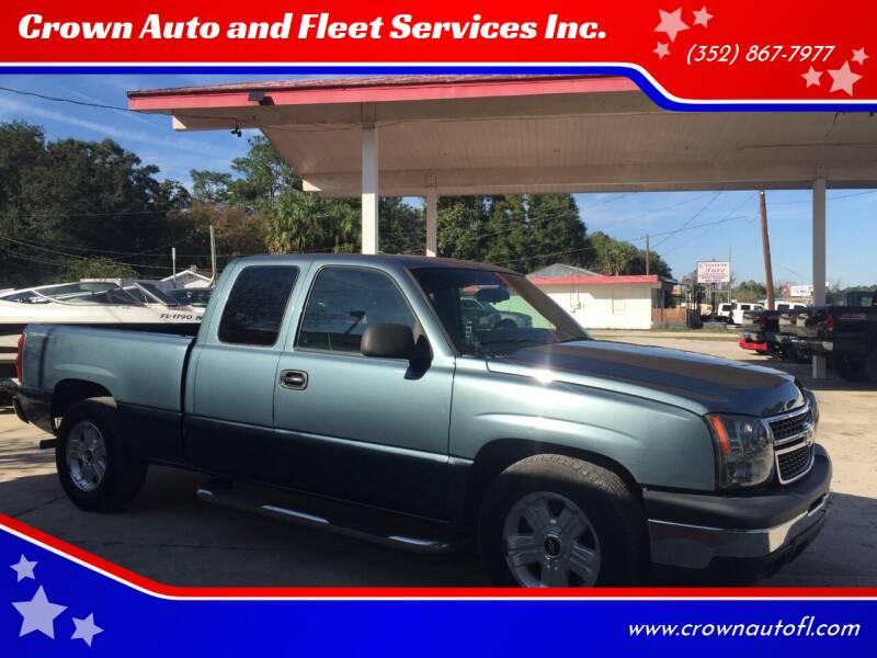 2006 Chevrolet Silverado 1500 for sale at Crown Auto and Fleet Services Inc. in Ocala FL