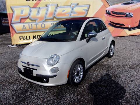 2013 FIAT 500c for sale at Pyles Auto Sales in Kittanning PA