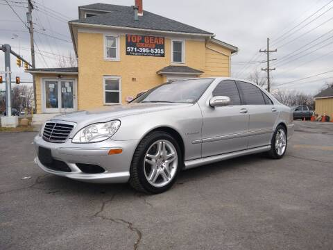 2004 Mercedes-Benz S-Class for sale at Top Gear Motors in Winchester VA
