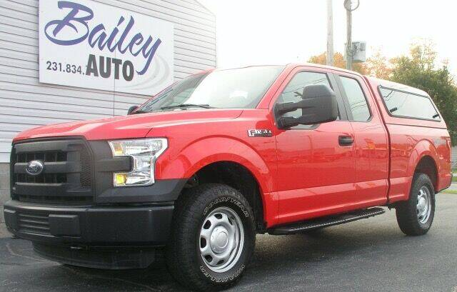 2016 Ford F-150 for sale at Bailey Auto LLC in Bailey MI