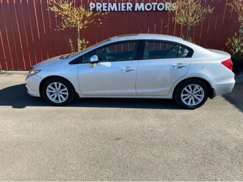 2012 Honda Civic for sale at Premier Motors in Milton Freewater OR
