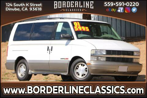2001 Chevrolet Astro for sale at Borderline Classics in Dinuba CA
