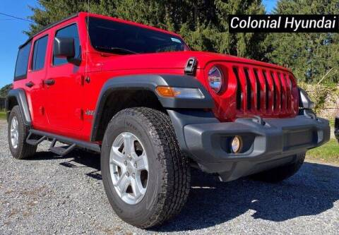 2018 Jeep Wrangler Unlimited for sale at Colonial Hyundai in Downingtown PA
