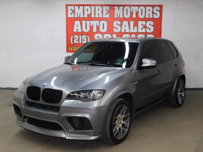 2011 BMW X5 M for sale at EMPIRE MOTORS AUTO SALES in Philadelphia PA