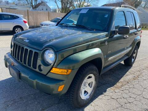 2006 Jeep Liberty for sale at Kostyas Auto Sales Inc in Swansea MA