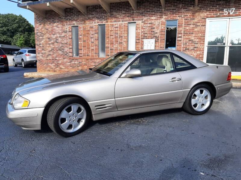 1999 Mercedes-Benz SL-Class for sale at Budget Cars Of Greenville in Greenville SC