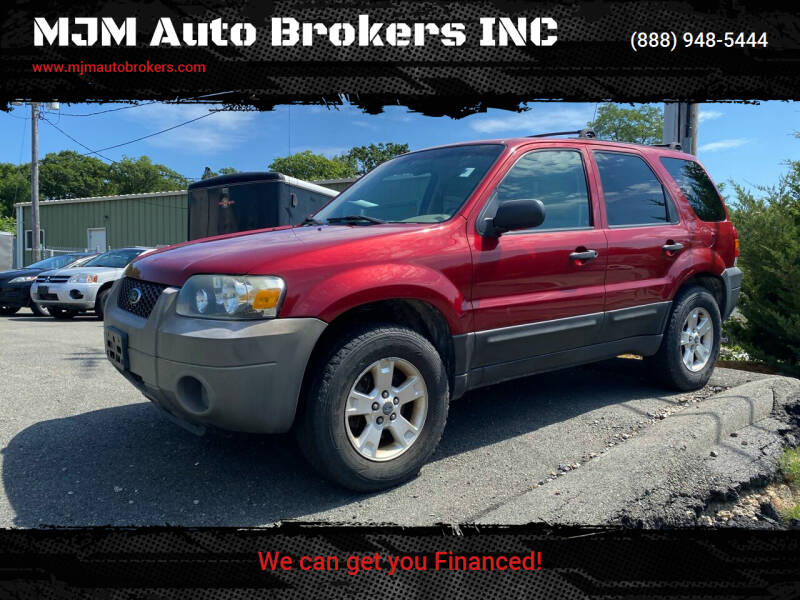 2006 Ford Escape for sale at MJM Auto Brokers INC in Gloucester MA