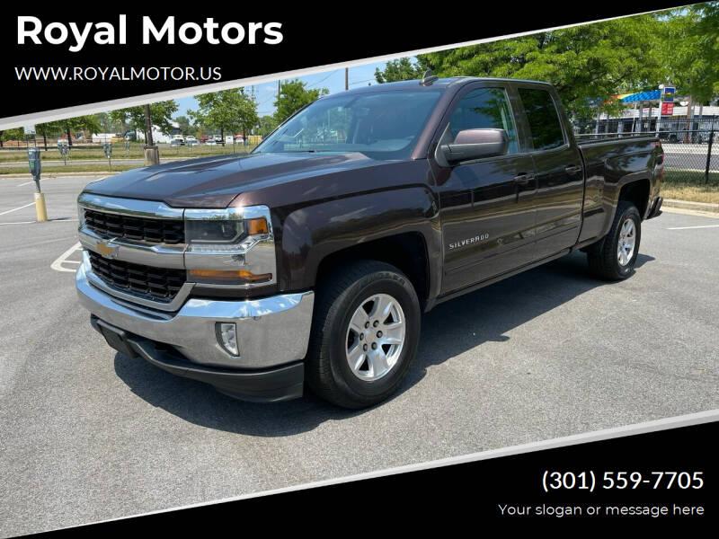 2016 Chevrolet Silverado 1500 for sale at Royal Motors in Hyattsville MD